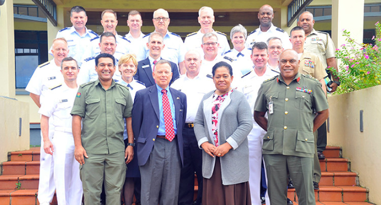 United States Defence Team Visits Fiji