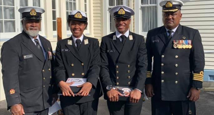 Fiji Navy: Sokoilagi First Female To Graduate From NZ Defence Centre