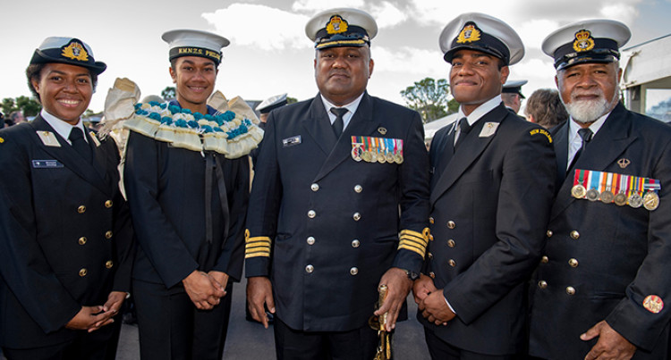 3 Fijians Complete Naval Officer Courses In New Zealand And the United States