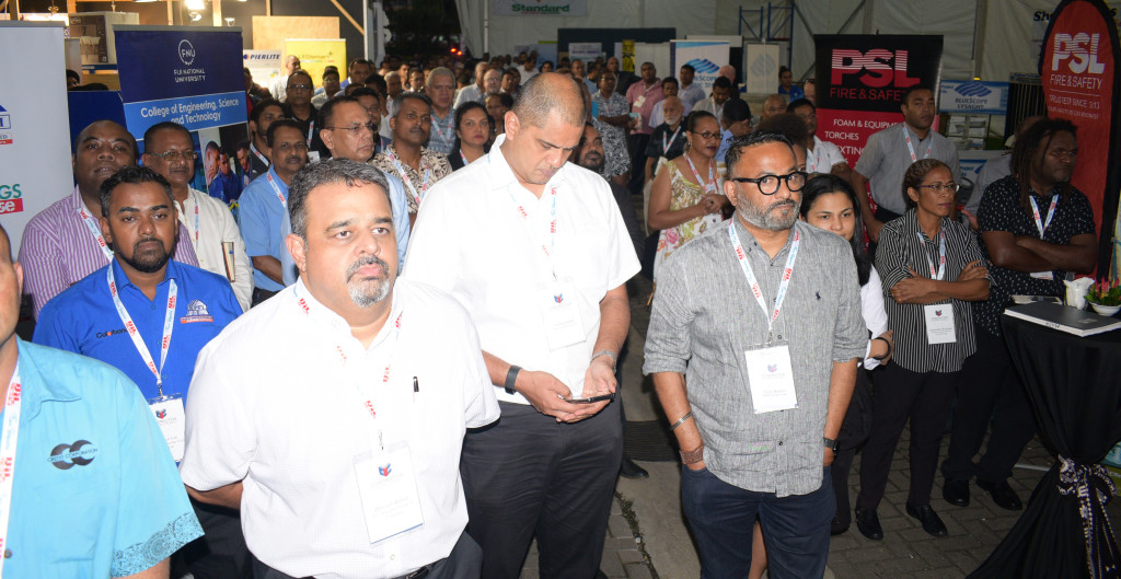 Construction Industry Council members during their 2nd trade show at Grand Pacific Hotel in Suva on June 13, 2019. Photo: Ronal Kumar.
