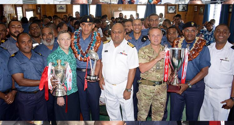 Fiji Navy Promotes Meli Derenalagi