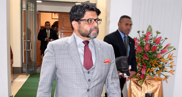 Sayed-Khaiyum: STOP Economic Sabotage To Opposition Members