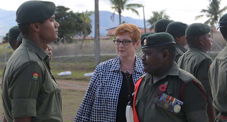 Marise Payne Arrives Tomorrow For Australia's Pacific Step Up Initiative