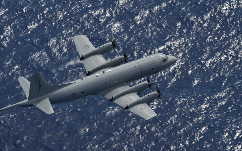 A Royal New Zealand Air Force P-3K2 Orion aircraft has found a Norwegian sailor who sent a distress signal after his vessel suffered a mechanical failure 2800 kilometres east-northeast of New Zealand this morning.