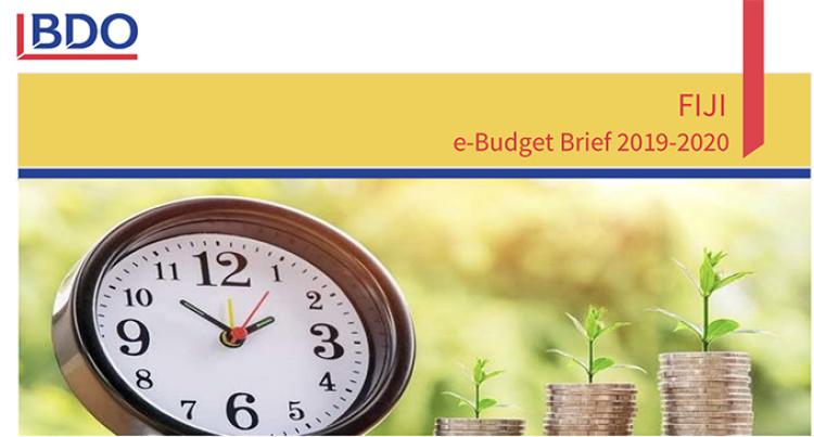 Fiji Budget 2019: BDO's Budget Brief