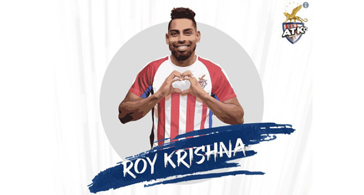 Roy Krishna Joins Indian Super League Team – ATK FC
