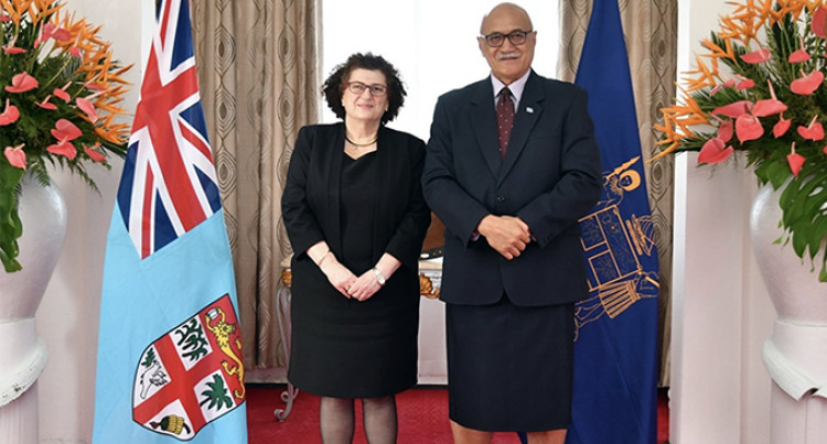 Cyprus High Commissioner To Fiji Presents Credentials
