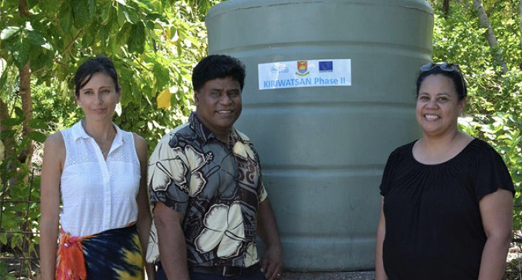Kiribati Communities Reap Benefits Of Improved Water And Sanitation Infrastructure