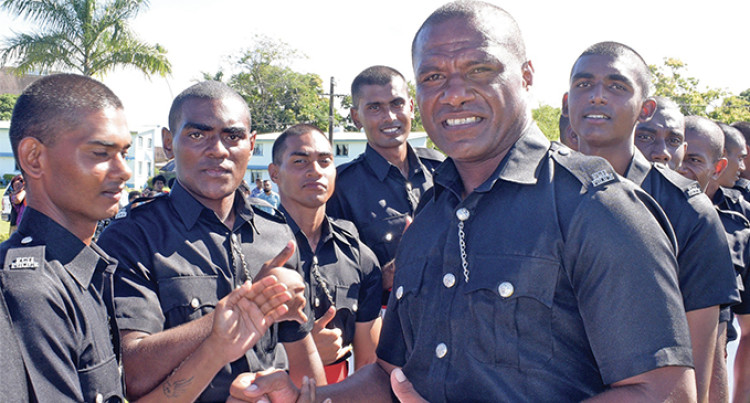 Eight Police Graduates Named To Play For Nadroga