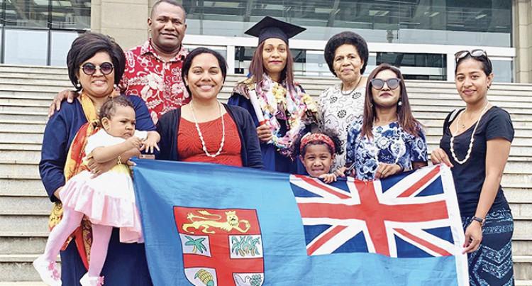 Mereoni Liku Follows Her Heart, Graduates With Tourism Masters Degree