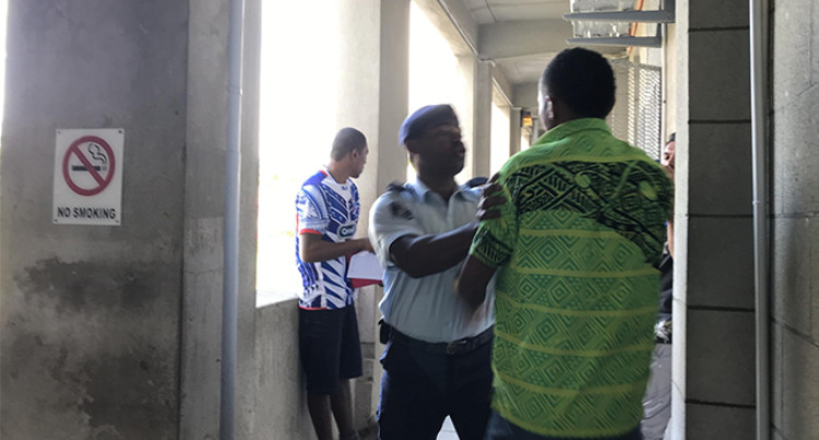 Murder Accused Attacked By Family Of The Deceased, At The Suva Court Precinct