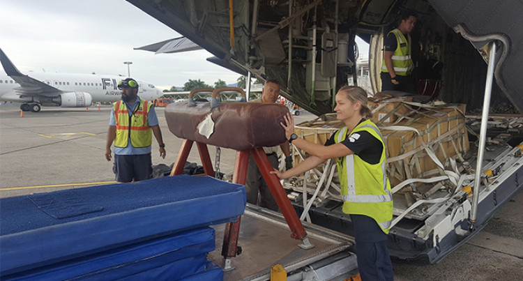 New Zealand Defence Force Delivers Donated Equipment To Fiji And Samoa