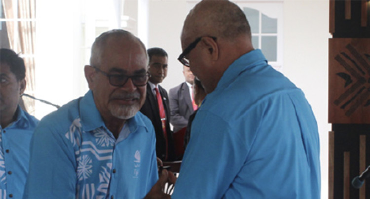 Team Fiji's Advance Party Arrives In Samoa