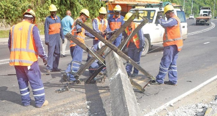 Road Accident Leaves Samabula Residents Without Power