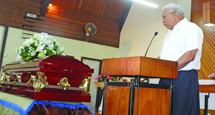 Prime Minister Salutes Late Filipe Bole For Dedicated Service To Nation