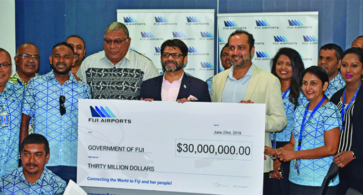 Fiji Airports Pays $30 Million In Dividends