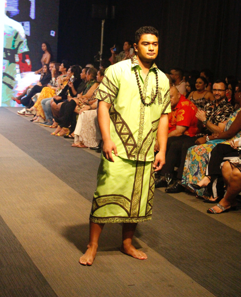 A model wearing a collection from Malae creations during the Bottega Fijian Fashion Festival at the Grand Pacific Hotel Suva on June 7,2019.Photo:Simione Haravanua.