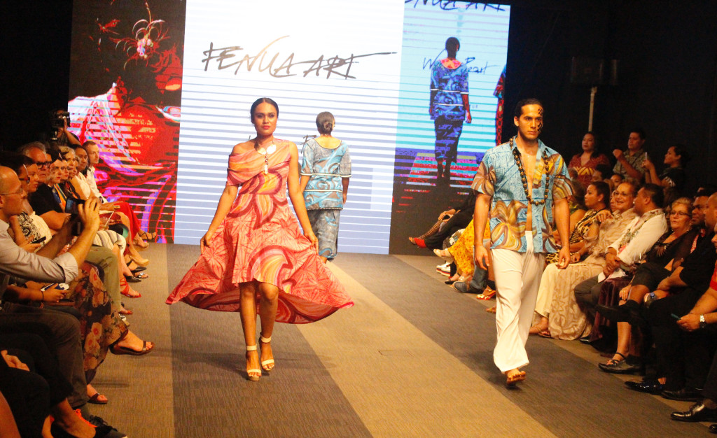 Models wearing a collection from Fenua Arts during the Bottega Fijian Fashion Festival at the Grand Pacific Hotel Suva on June 7,2019.Photo:Simione Haravanua.
