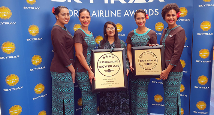Congratulations Fiji Airways
