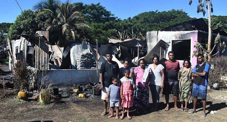 Birthday Party Plans Ruined As Family Loses All In Lautoka Fire