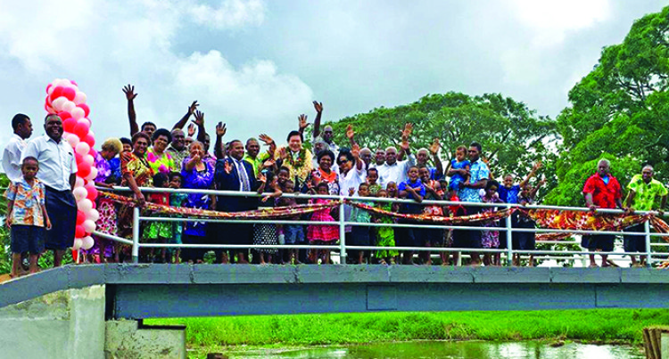 Funding Boost For Visama Village Foot Bridge Project