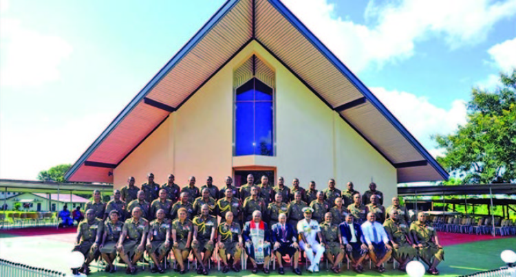 3FIR Of The Republic Of Fiji Military Force Celebrates Chapel Renovation
