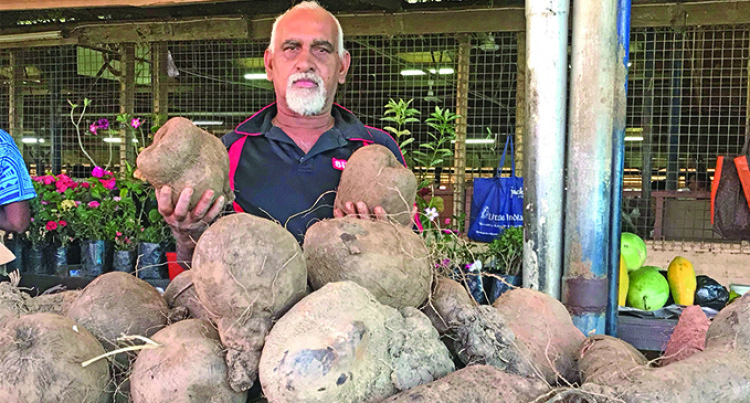 Nidhan Singh Passionate With Yams, Knows All Varieties
