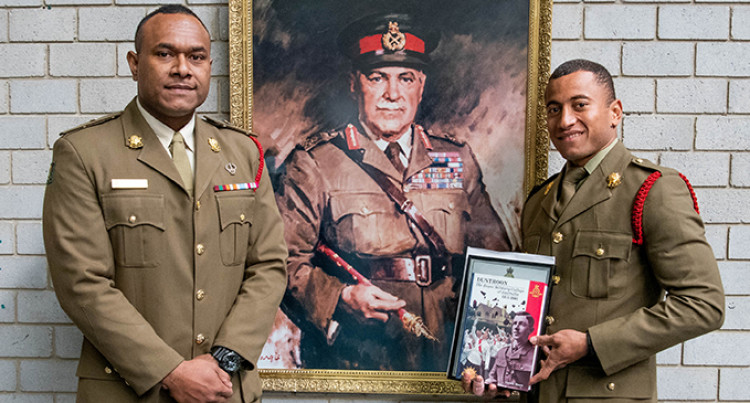 Staff Cadet Viliame Matai Excels At Australian Army's Royal Military College, Duntroon