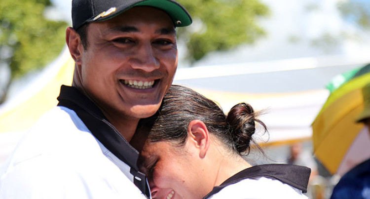 Pacific Games: Golden Moment For Archery Couple Frederick And Lisa Leota