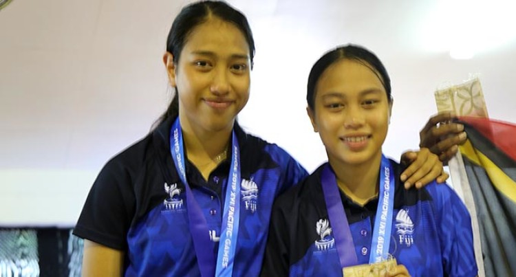 Pacific Games: Talented Yee Sisters Win Silver In Table Tennis