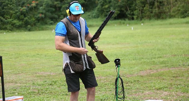Pacific Games: Glen Kable Shoots For Gold