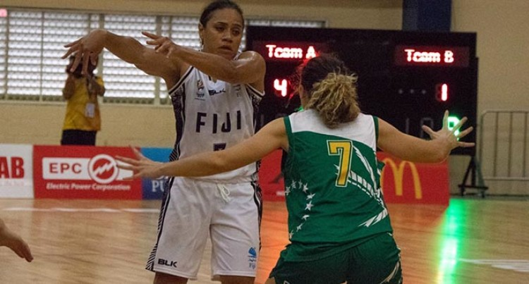 Our Women Basketballers Edge Cook Islands At The Pacific Games