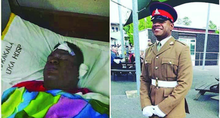 Nabou Accident Survivor Graduates From British Army