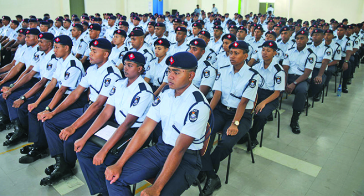 Officers Sent Home For Laxity, Fiji Police Commissioner Tells Recruits