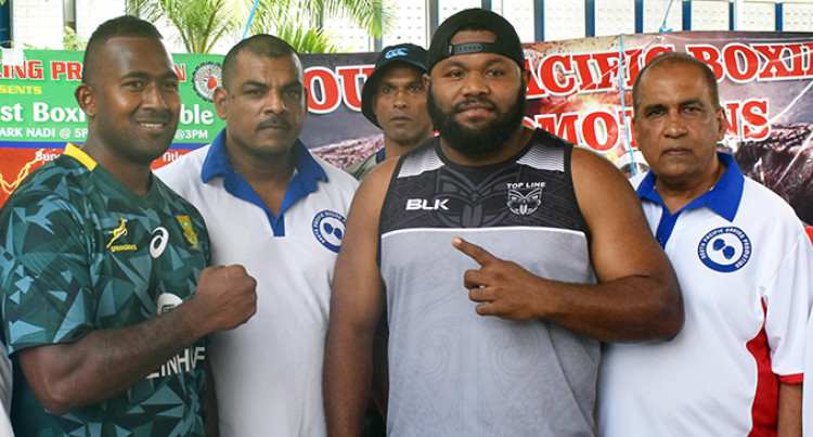Korolevu 'Beast' Singh To Fight For Heavyweight Title