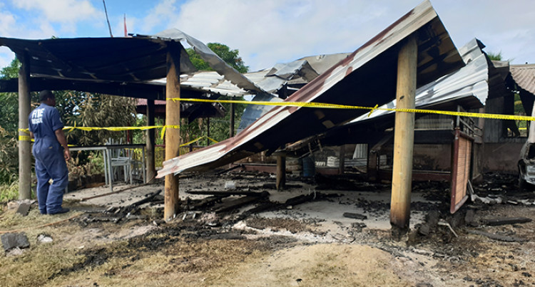 Businessman Mourns, Wife Perished in Morning Fire