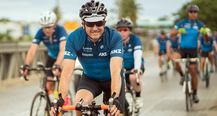 ANZ Bank Cyclists Raise $106,000 For Cure Kids Fiji's Oxygen Project