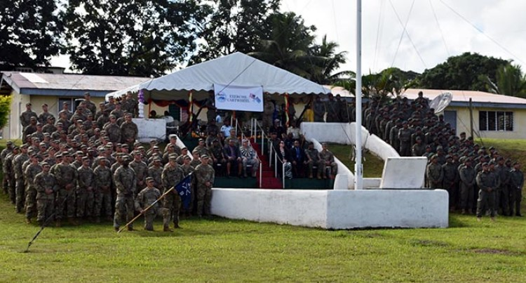 Republic of Fiji Military Forces and the United States Armed Forces Forge New Defence Ties