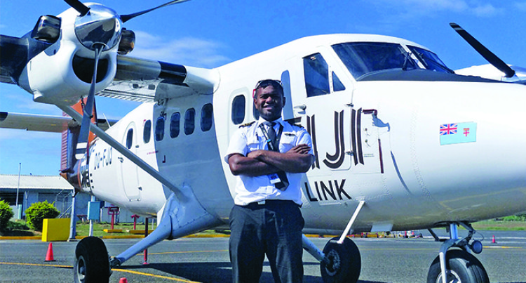 Saula Naikatini's Leap Of Faith Earns Him Flying License