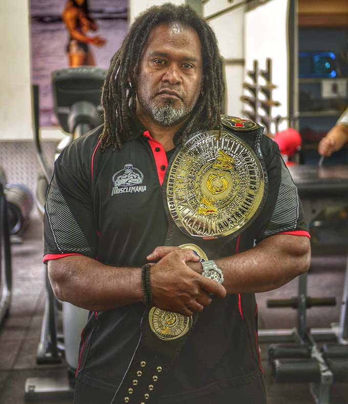 "Jone Seru is best known across Australia and the United Kingdom as ""Vulcan"", from the original television hit series ""Gladiators""."