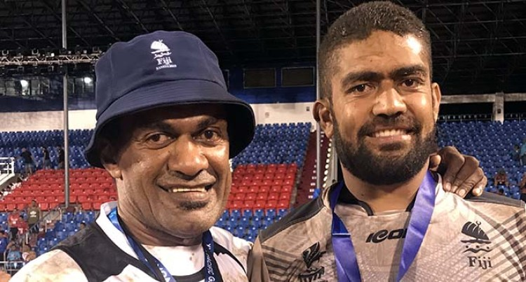 Pacific Games: Father And Son Win Gold In Samoa