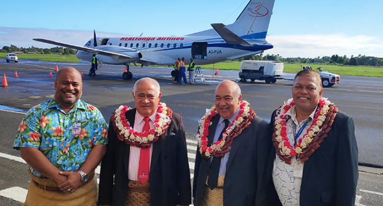 REALtonga Airlines Flights To Nausori International Airport To Be A Hit Say CEO