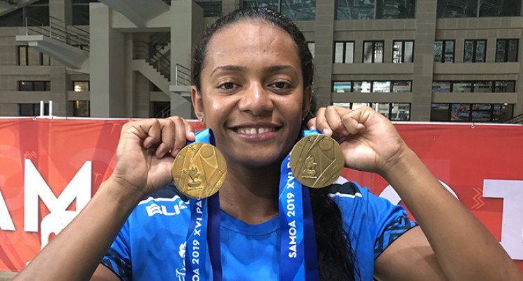 Double Gold For Matelita