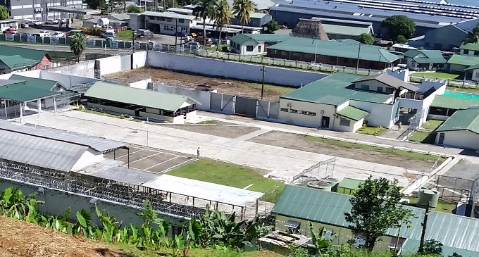 The vacant lot where the Korovou Prison block once stood. Photo: Maika Bolatiki