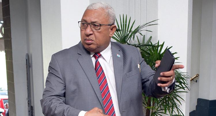 Prime Minister Voreqe Bainimarama Condemns Bulitavu's Sex Talk Against Indo-Fijians