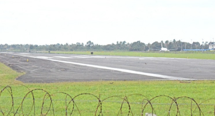 Runway Works Stop Jet Aircraft Operations At Nausori Airport
