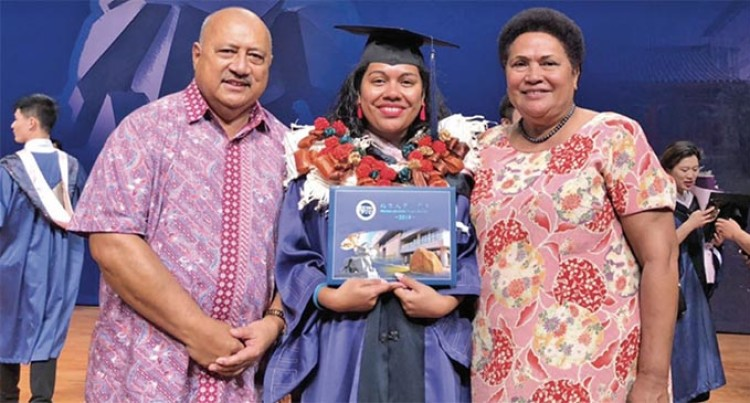 Kubuabola, 3rd Fijian to Graduate from Prestigious University