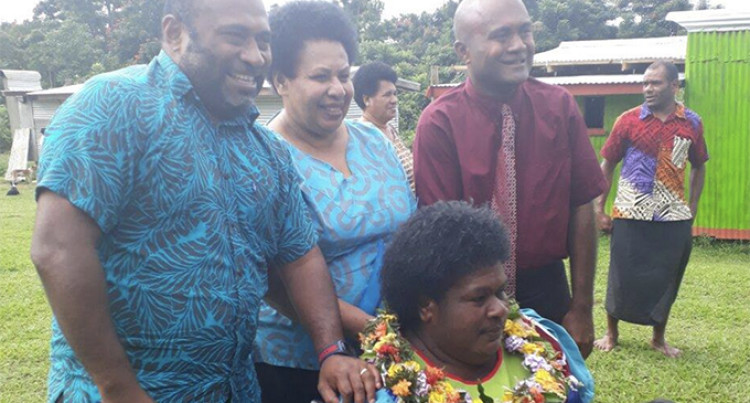 Ministry Of Health Donates Wheelchair To Injured Mother