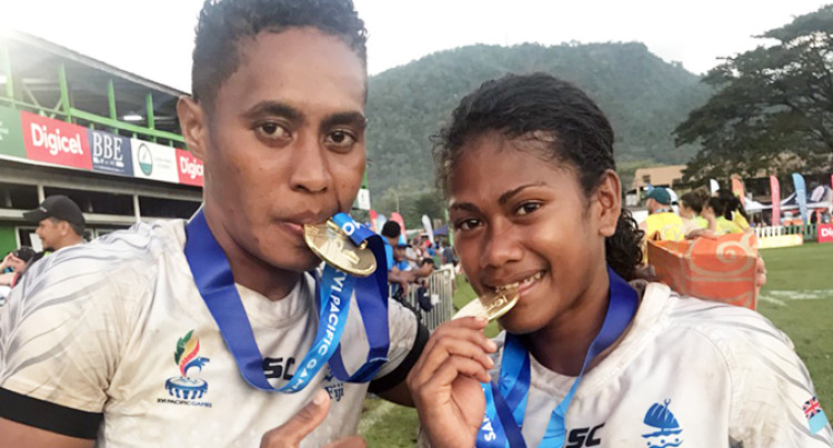 Pacific Games: Fiji Men and Women's Teams Win Gold In Rugby 7s