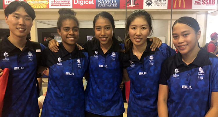 Pacific Games: Silver For Our Women At Table Tennis Event